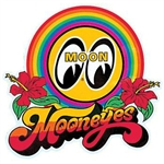 Mooneyes Rainbow Decal