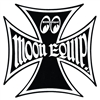 MOON Equipped Iron Cross Sticker