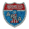 MOONEYES Area-1 Sticker