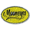 Mooneyes Oval Glitter Decal