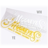 Mooneyes Script Die Cut Decal
