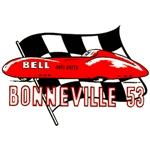 Bonneville 53 BELL Auto Parts Decal