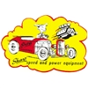 Sharp Speed and Power Equipment Decal