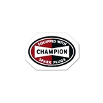 CHAMPION STICKER