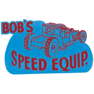 Bob's Speed Equip Decal