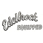 Edelbrock EQUIPPED Sticker