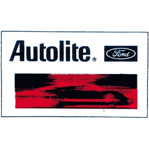 Autolite Decal