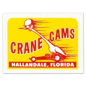 CRANE CAMS STICKER