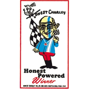 Honest Charley Powered Decal