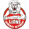 Lions Drag Strip Decal