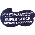 Cecil County Dragway Decal