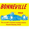Bonneville Salt Flats 1960 Decal