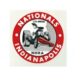 12th ANNUAL NHRA INDIANAPOLIS NATIONALS STICKER