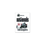 1967 NHRA INDIANAPOLIS NATIONALS STICKER