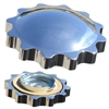 Polished Ford Sprocket Gas Cap