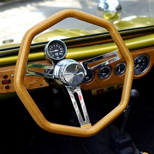 California Metal Flake: OCTAGON Steering Wheels