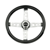 4-Spoke Steering Wheel - Black