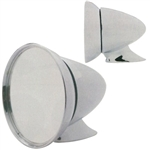 Chrome Universal Mount GT Mirror