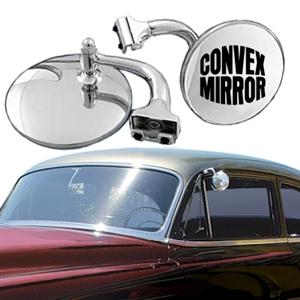 4 Inch Convex Peep Mirror