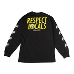 IN4MATION X MOONEYES RESPECT LOCALS LONG SLEEVE T-SHIRT