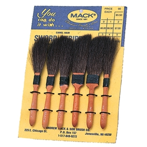 MACK BRUSH Series 20 - Set of 6 Brushes