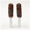 Tiki Moon Door Lock Knobs