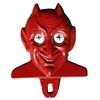 Red Devil License Plate Topper