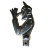 Thumbing Devil License Plate Topper