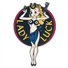 Lady Luck Decal - 6-inch