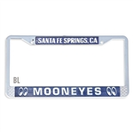 MOONEYES Santa Fe Springs License Frame (Blue)