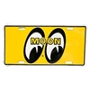 License Plate - MOON Logo