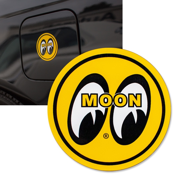 Mooneyes Mqqn Yellow Eyeball Logo Magnet Fender Magnets