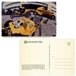 Mooneyes USA Postcard - MOON Garage Collection Photo