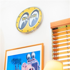 MOON Wall Clock 14""