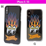 Flamin' MOON iPhone X / XS Hard Case