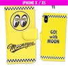 MOONEYES iPhone X, XS Flip Case