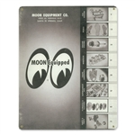 1960 MOON Catalog Vintage Sign