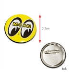 MOON YELLOW Can Badge