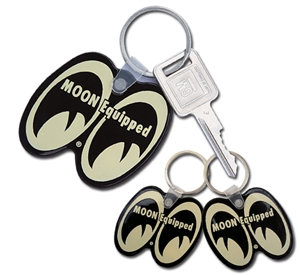 MOON Equipped Key Ring - Black