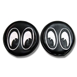 Pair of MQQN Eyes Black Headlight Covers