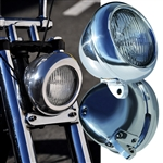 MOONEYES Original Motorcycle Headlight