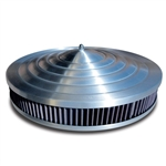 Starburst Air Cleaner Aluminum 14""