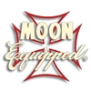 MOON Equipped Iron Cross Die Cut Decal - Ivory w/Red