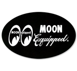 MOON Equipped Oval Sticker
