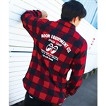 Speed Shop Long Sleeve Flannel Shirt