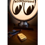 MOON Equipped Zippo Lighter Brass