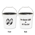 MOON Equipped Bucket (2 Gallons) White (Small)