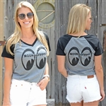 MOON Equipped Ladies Raglan T-shirt
