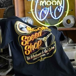 Moon Equipped Speed Shop T-shirt