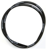 Moon Equipped Spiro Wound 8mm Wire by the FOOT(Black)